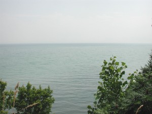 Lake Erie looking southward
