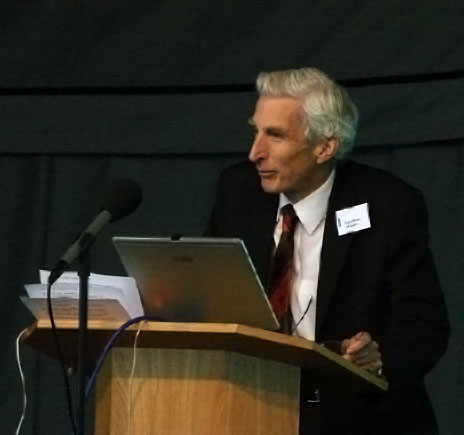 Martin Rees at Jodrell Bank in 2007