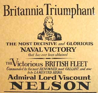 Battle of Trafalgar Poster 1805