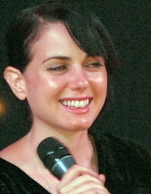 Mia Kirshner red lighted cropped 2