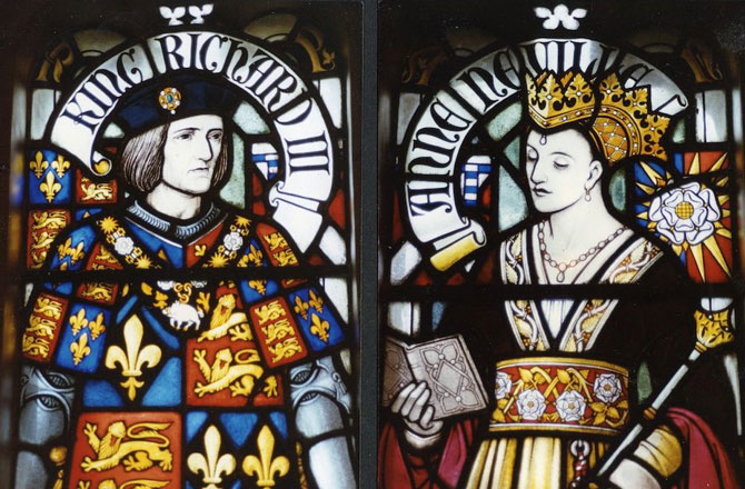 King Richard III and Queen Anne