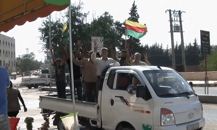 PYD supporters