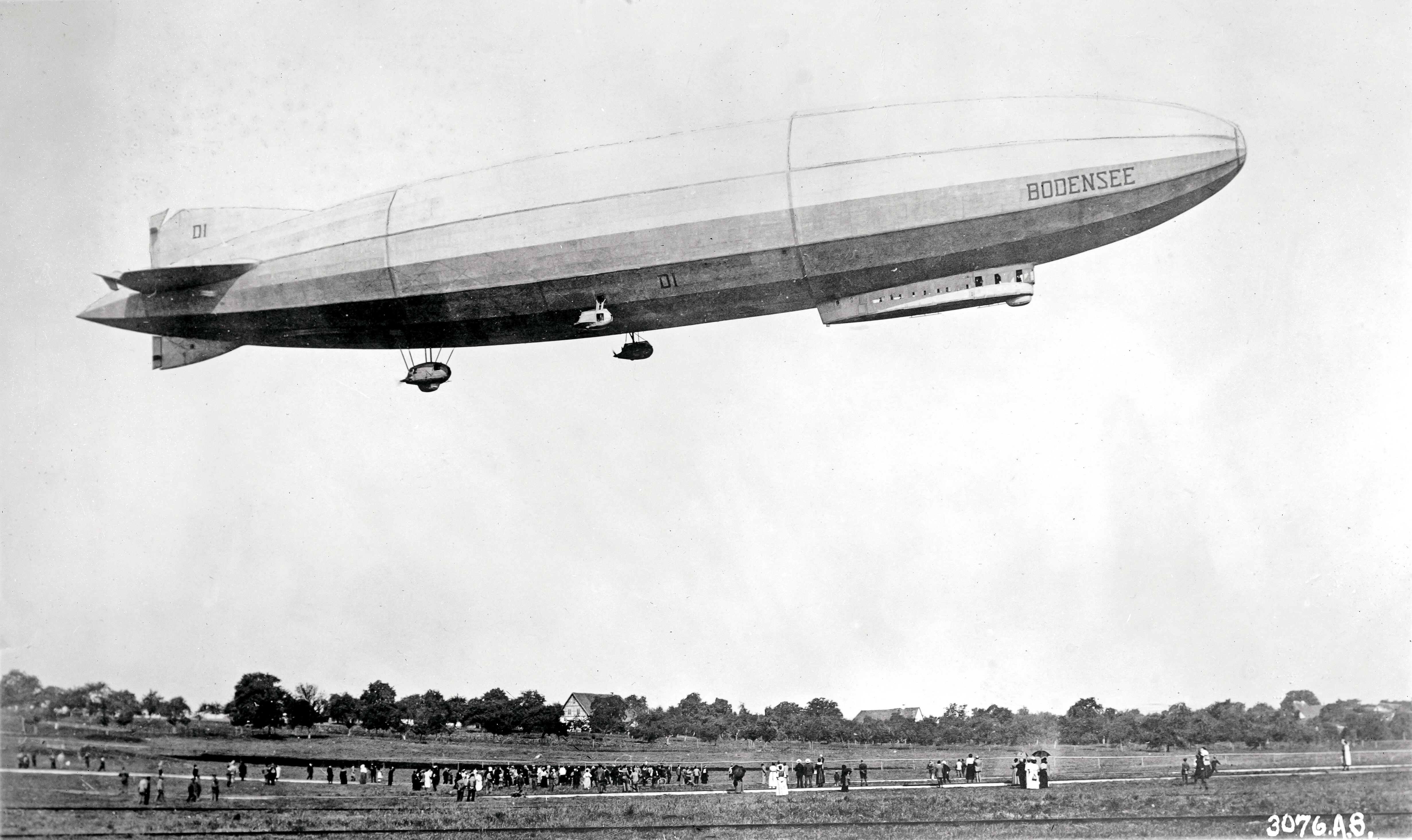 Airship Bodensee, Oct. 1919