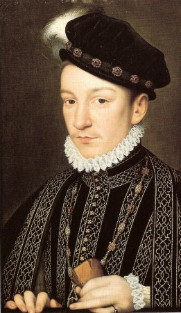 Charles IX of France by F. Clouet