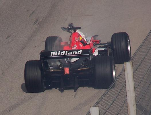 Adrian Sutil 2006 test