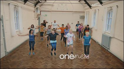 BBC One 'Oneness' Exercise Class Ident