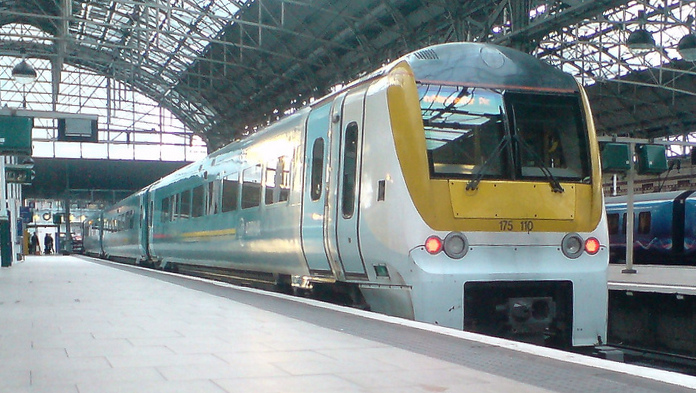 BR Class 175 Piccadilly ghost livery