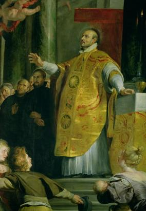 Vision of St. Ignatius of Loyola