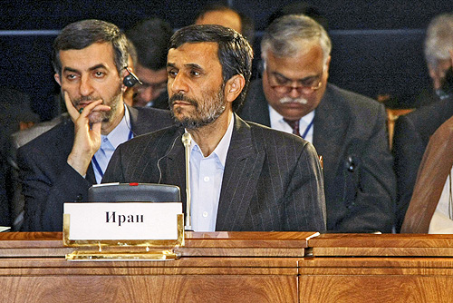 Ahmadinejad Russia June 2009