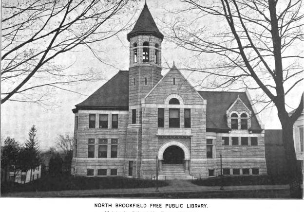 1899 NorthBrookfield public library Massachusetts