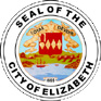 Official seal of Elizabeth, New Jersey