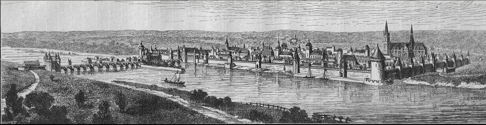 View of Orléans 1428 - Project Gutenberg etext 19488