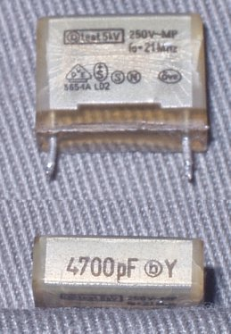 Capacitors box
