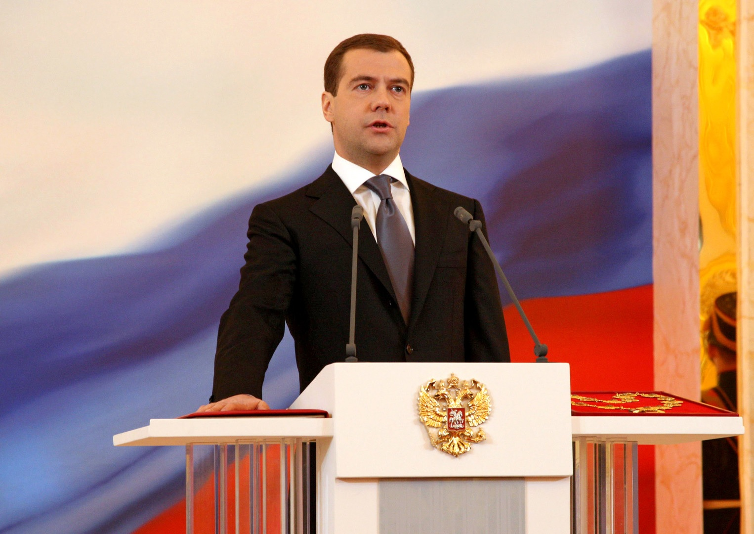 Inauguration of Dmitry Medvedev, 7 May 2008-7