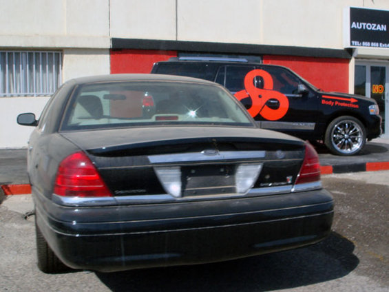 Crown Victoria Special Edition Rear