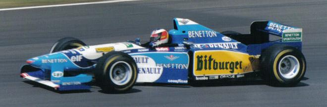 Michael Schumacher 1995 Britain 2