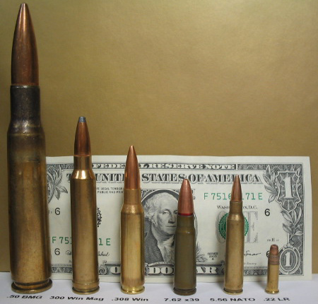 Rifle cartridge comparison