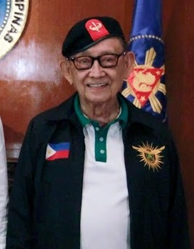 FVR at the State Dining Room of the Malacañan Palace (cropped)