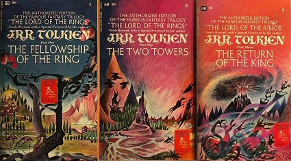 Remington Covers for Ballantine Lord of the Rings 1960s