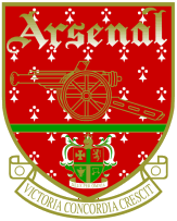 Arsenal fc old crest small