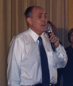 Rudy Giuliani speaking