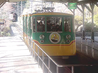 Takao Mountain Railroad funicular