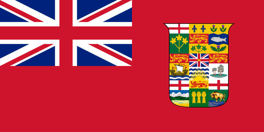 Canadian Red Ensign 1907