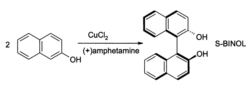 CuCl2 naphthol coupling