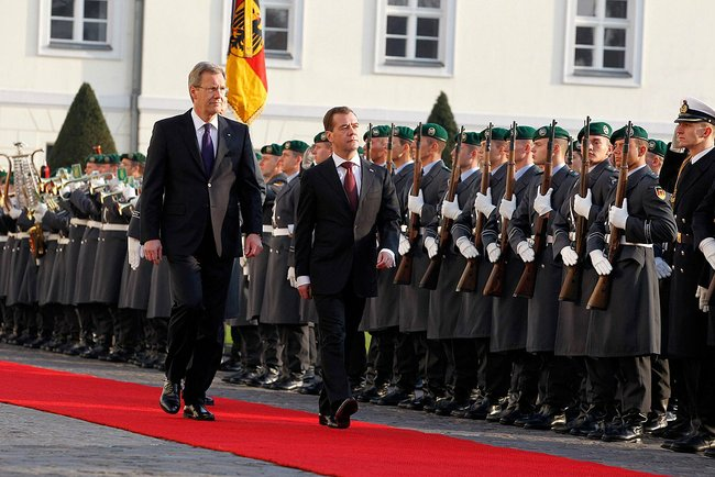 Dmitry Medvedev in Germany, November 2011-2