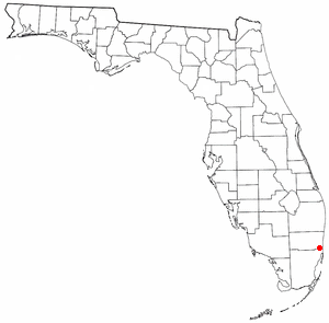 Location of Miami Gardens