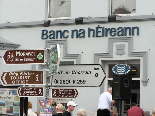 Signs in Irish - geograph.org.uk - 51693