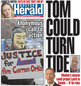 Boston Herald (cover)