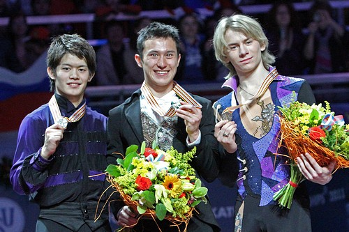 2011 World Championships Men Podium