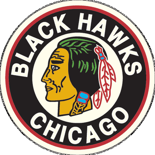 Chicago Blackhawks logo (1937-1955)