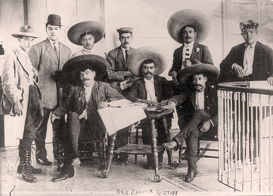 General emiliano zapata staff