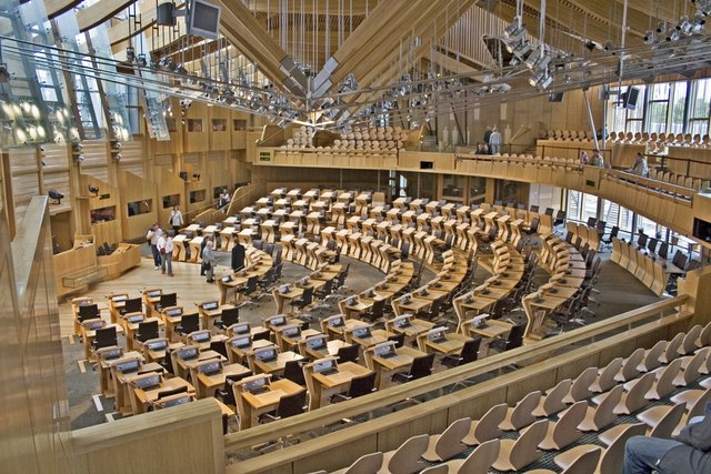 Scottish Parliament, Main Debating Chamber - geograph.org.uk - 1650829