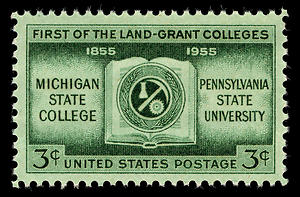 Land grant college stamp