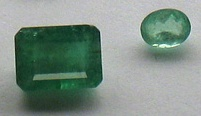Beryl emeralds cut XH