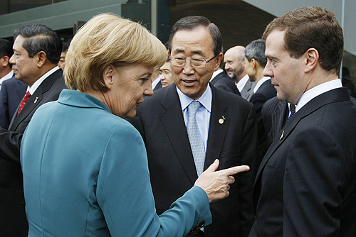 Dmitry Medvedev at the 34th G8 Summit 7-9 July 2008-49