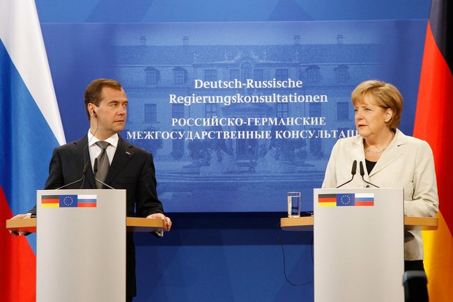 Dmitry Medvedev in Germany, July 2011-19