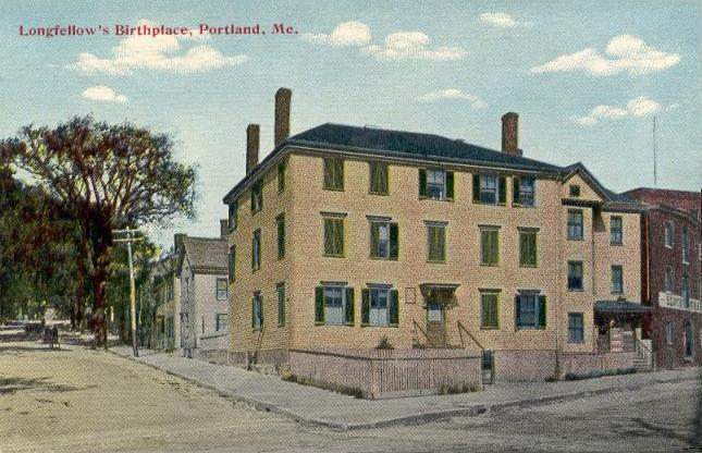 Longfellow's Birthplace, Portland, ME