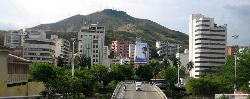 Tres Cruces Hill, Cali, Colombia