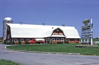 Yasgur farm in 1968