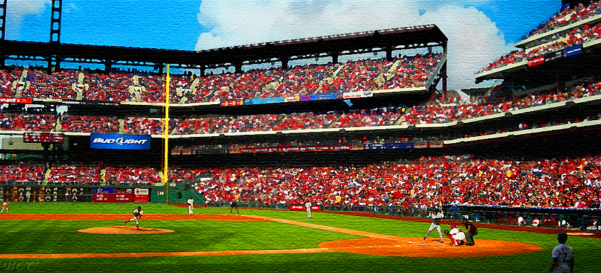 """Full House at Citizens Bank Park"""