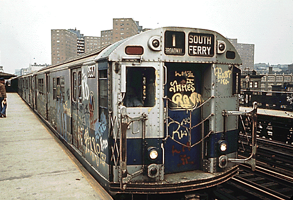 NYC R36 1 subway car