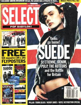 Select BritPop cover April 1993
