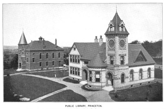 1899 Princeton public library Massachusetts