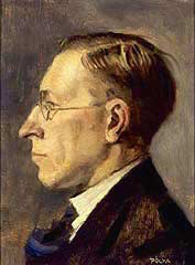 Portrait of Dr. Frederick Grant Banting by Tibor Polya, 1925
