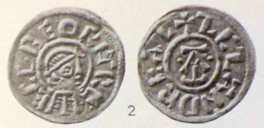 Coin of King Egbert of Wessex