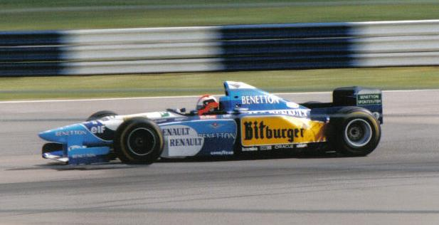Johnny Herbert 1995 Britain